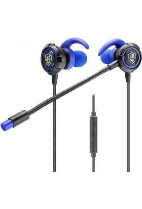 Karler KR-GM502 Mikrofonlu Kulak Içi Oyuncu Kulaklığı Kırmızı