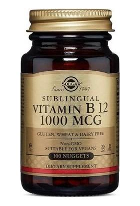 Solgar Vitamin B12 Sublingual 100 Tablet