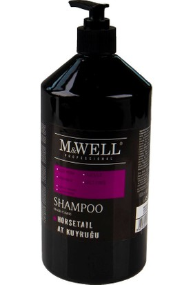 M&Well At Kuyruğu Şampuan Tuzsuz 1000 ml
