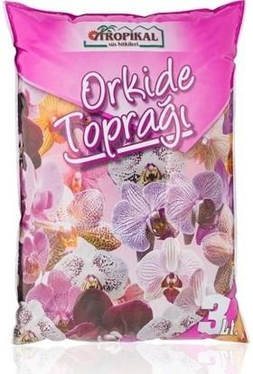 Gül Çiçek Sarayı Hava Dlikli Orkide Saksısı, Orkide Toprağı, Orkide Vitamini
