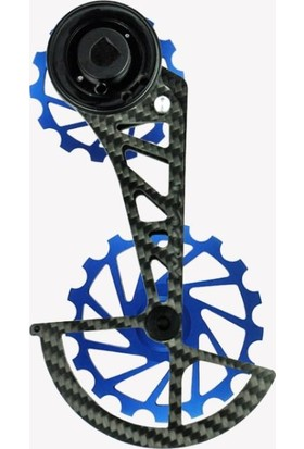 Nova Ride Ospw 3D Karbon Seramik Arka Vites Kafesi Sram Red - Force Axs Blue