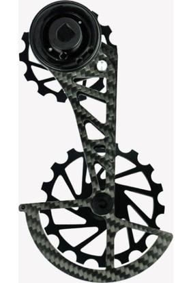 Nova Ride Ospw 3D Karbon Seramik Arka Vites Kafesi Sram Red-Force Axs Black