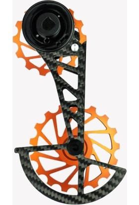 Nova Ride Ospw 3D Karbon Seramik Arka Vites Kafesi Sram Red - Force Axs Orange