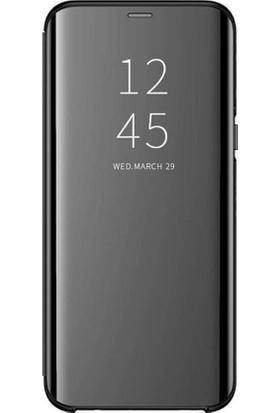 i-Stone I Stone Clear View Kapaklı Kılıf Samsung Galaxy S8 Plus Siyah