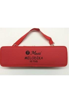 Masis MSML32 Melodika 32 Tuşlu Kırmızı