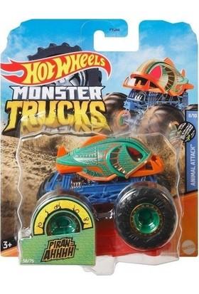 Hot Wheels Monster Trucks 1:64 Arabalar Piran-Ahhh GJD86