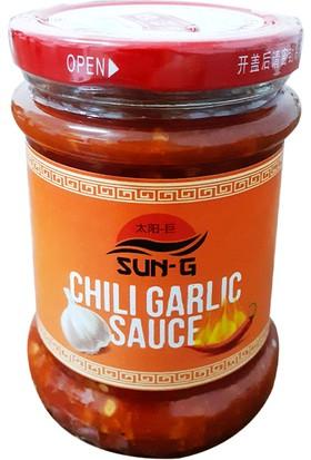 Sun-G Chili Garlic (Sarımsaklı Biberli) Sos 240 gr