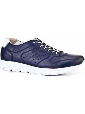 Cabani Erkek Bağcıklı Light Taban Günlük Ayakkabı 398M782 Lacivert