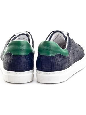 Cabani Erkek Bağcıklı Günlük Ayakkabı 312C366 Lacivert