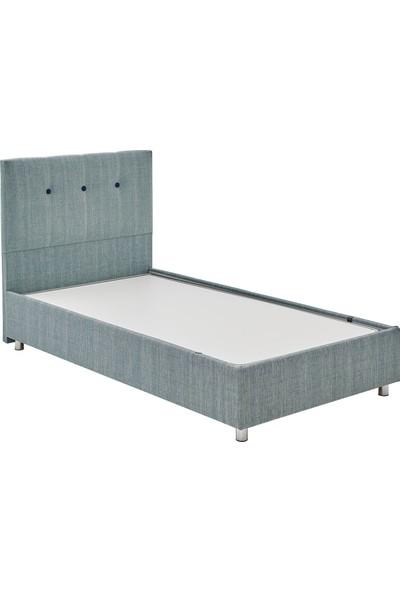 Yataş Bedding Nova Sandıklı Yatak Baza Başlık Genç Seti - Multi Yatak - (Tek Kişilik 90X190 cm - Turkuaz)