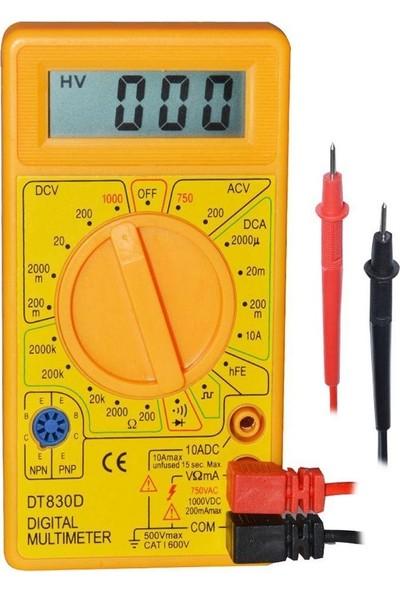 Dt 830D Multimetre