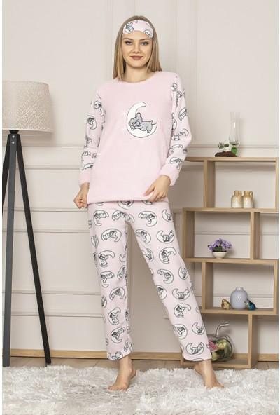 Kompedan GLS 1035 Kadın Welsoft Pijama Takım