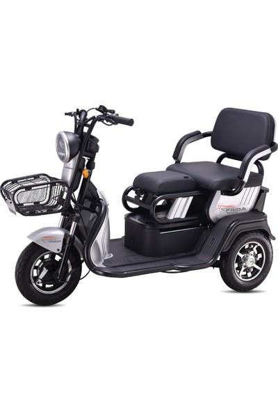 Falcon Frida 7000 3 Tekerli Elektrikli Motosiklet Gri