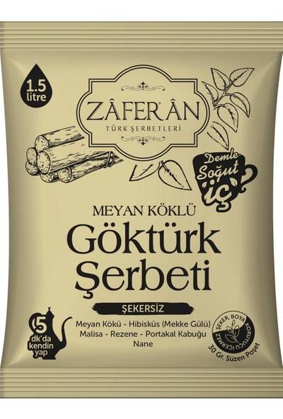Zaferan Göktürk Şerbeti - Toz - 1,5 Lt