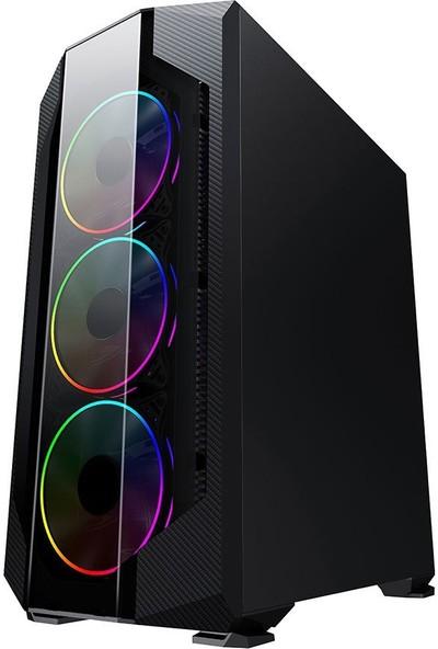 """Dragos ATM00000197 Ryzen 5 3500X 8gb Ram 256GB M.2 Nvme 4gb RX550 23.8"""" Full Hd Oyun Bilgisayarı"""