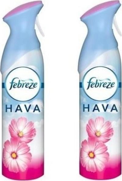 Febreze Hava Ferahlatıcı Sprey Oda Kokusu Bahar Çiçekleri 2 Li Paket x 300 ml