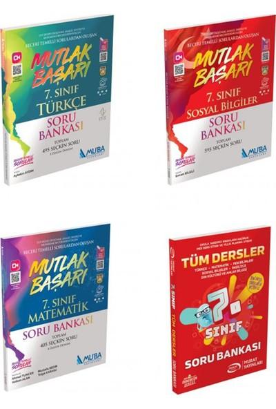 Muba Yayınları 7. Sınıf Mutlak Başarı Türkçe, Matematik, Sosyal ve Tüm Dersler Soru Bankası Seti