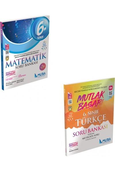 Muba Yayınları 6. Sınıf Matematik ve Türkçe Mutlak Başarı Soru Bankası Seti