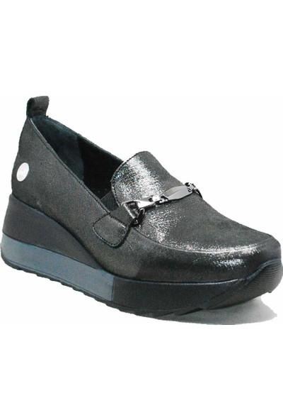 Mammamia D21YA-3215 Gri Kadın Ayakkabı