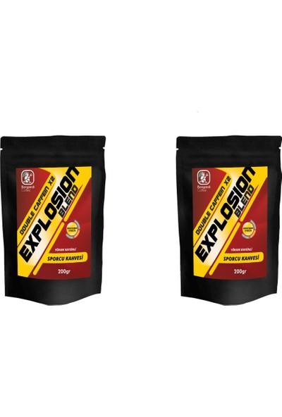 Bongardi Coffee Sporcu Kahvesi Explosion Filtre Kahve Makinesi Uyumlu 2 Kat Kafeinli 2X200 gr