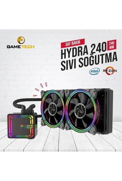 Gametech Hydra 240MM Sıvı Soğutma Sistemi
