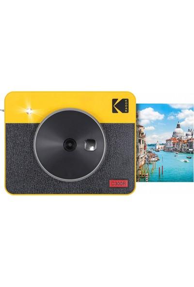 Kodak Mini Shot Combo 3 Retro Anında Baskı Dijital Fotoğraf Makinesi + Yazıcı (Sarı)