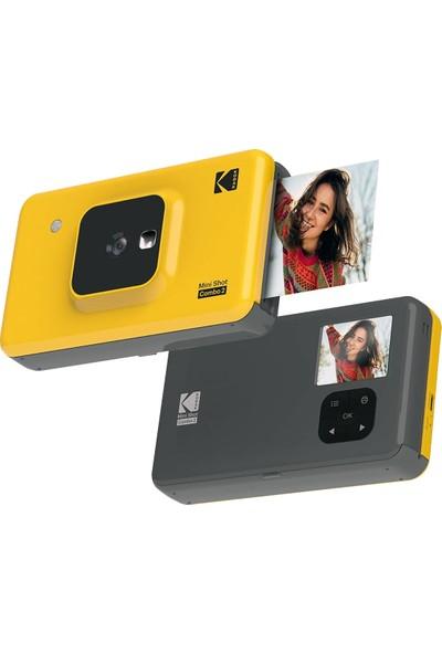 Kodak Mini Shot Combo 2 Anında Baskı Dijital Fotoğraf Makinesi + Yazıcı (Sarı)
