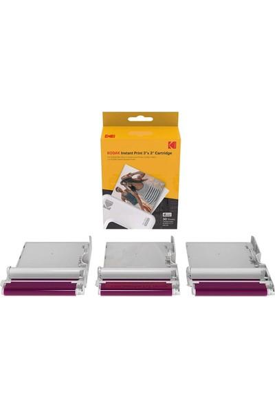 Mini Shot 3, Mini Shot 3 Retro, Mini 3, Mini 3 Retro - 30 Adet Baskı Kağıdı+Ribon Seti
