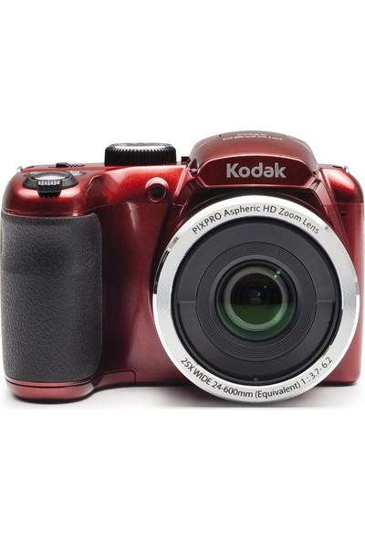 Kodak Astro Zoom AZ252/25X Yakınlaştırma Dijital Fotoğraf Makinesi-Kırmızı