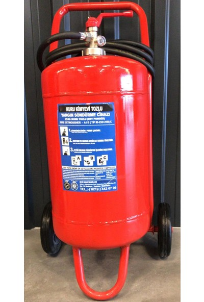 Selçuklu Plus Kkt Yangın Söndürme Cihazı 25 kg