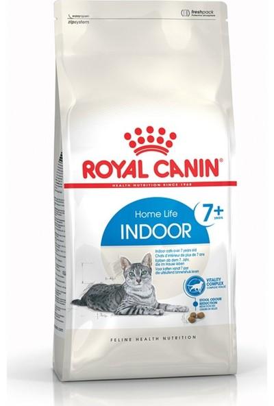 Royal Canin Indoor +7 Yaşlı Kuru Kedi Maması 3,5 kg 10'lu Set Idili
