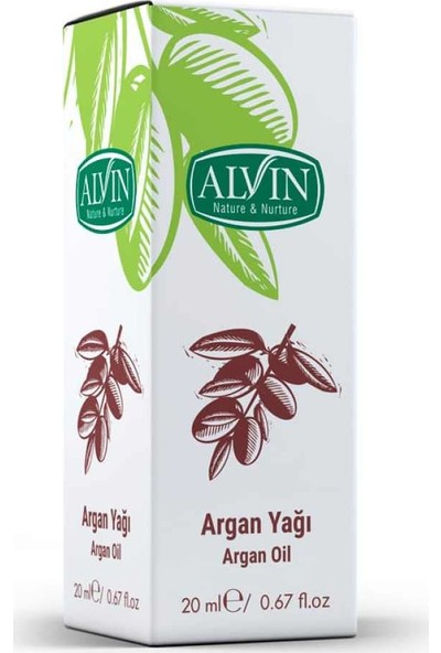 Alvin Argan Yağı 20ml