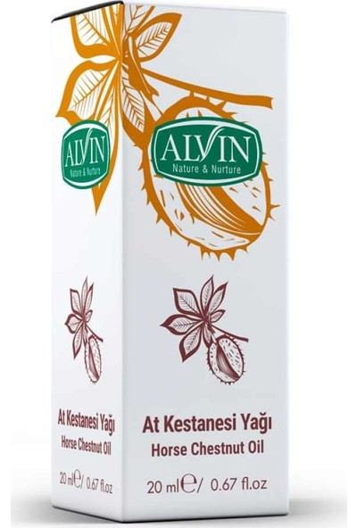 Alvin At Kestanesi Yağı 20ml