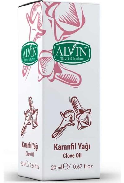 Alvin Karanfil Yağı 20ml