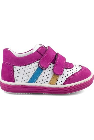 Cici Bebe Fuşya Beyaz Kız Çocuk Ayakkabısı 103508K-FSY-BYZ