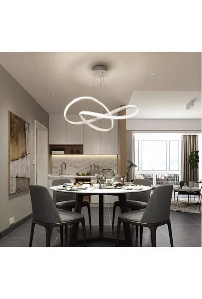Burenze A+ Luxury Modern Sarkıt LED Avize Concept Ürün Krom Kademeli 3 Renk BURENZE795