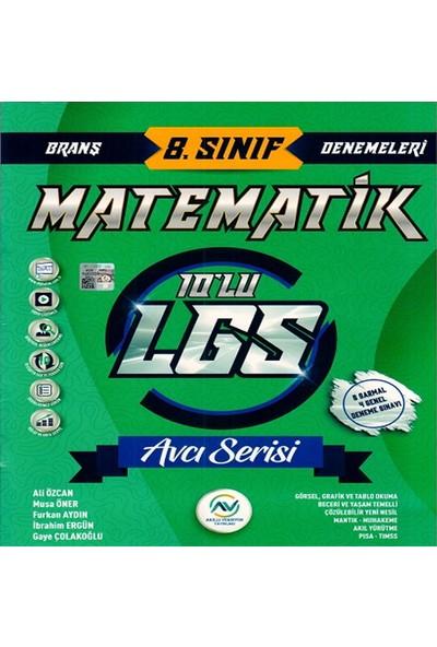 Av Akıllı Versiyon Yayınları 8. Sınıf LGS Matematik 10 lu Deneme