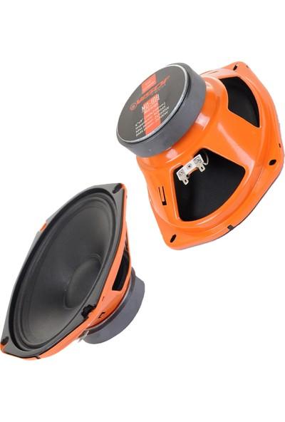 Vısor Oto Hoparlör Oval 6x9 Inch Midrange (160X240MM) 2X1000W-2X500RMS Ses Kalitesi
