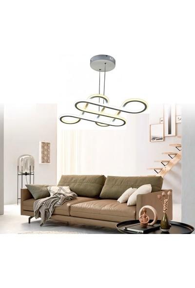Burenze Modern Sarkıt Power LED Avize Kademeli Çift Renk BURENZE721
