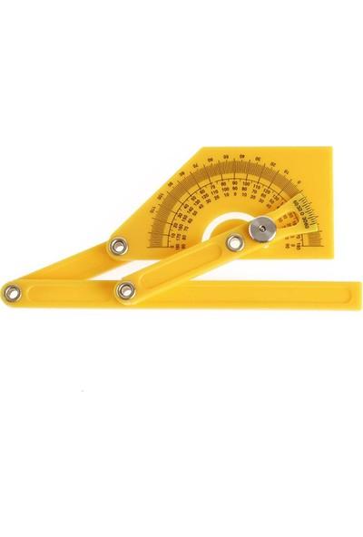 Bts 12101 Plastik Gonyometre Açı Bulucu Marangoz Açı Ölçer Gönye