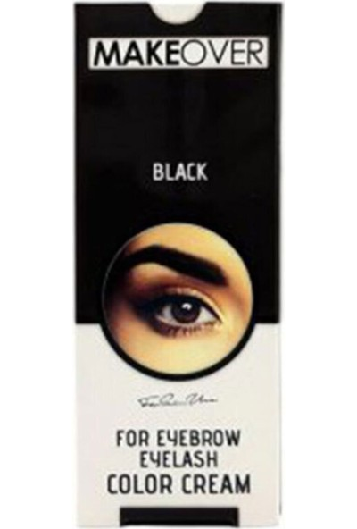 Makeover Magic Kaş Kirpik Boyası-Siyah