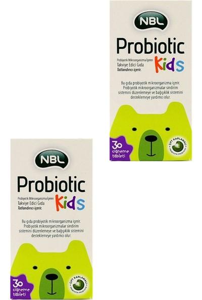 Nbl Probiotic Kids 30 Tablet 2'li
