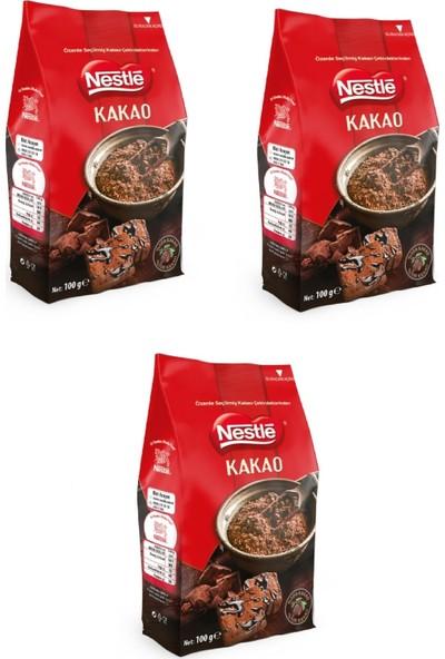 Nestle Toz Kakao 100 gr x 3 'lü