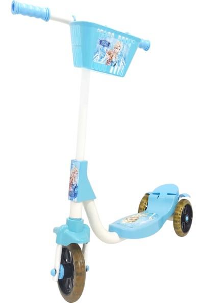 Chubby Baby 3 Tekerlikli Sepetli Çocuk Scooter - Turkuaz