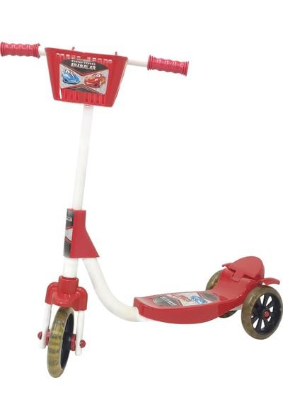 Chubby Baby 3 Tekerlikli Sepetli Çocuk Scooter - Kırmızı