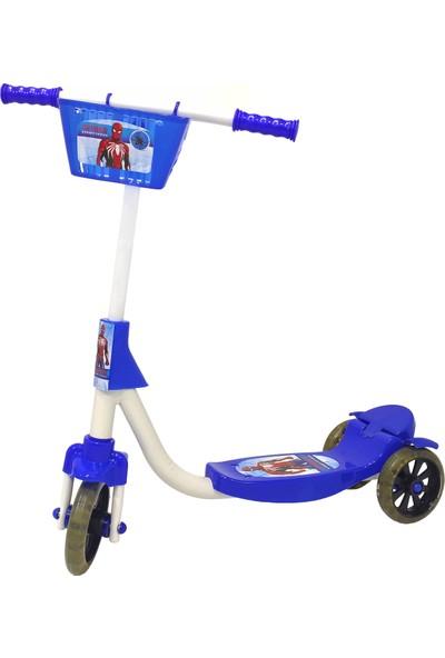 Chubby Baby 3 Tekerlikli Sepetli Çocuk Scooter - Lacivert