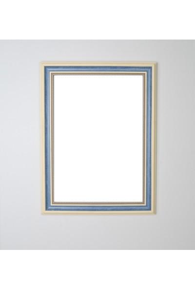 Selçuklu Sanat Puzzle Çerçevesi 53 mm 48X68 cm (1000'LUK) Mavi