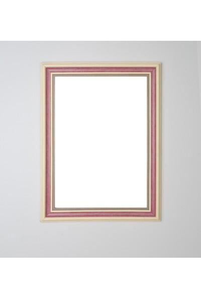 Selçuklu Sanat Puzzle Çerçevesi 53 mm 60X85 cm (1500'LÜK) Bordo