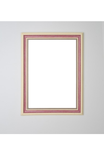 Selçuklu Sanat Puzzle Çerçevesi 53 mm 68X96 cm (2000'LIK) Bordo
