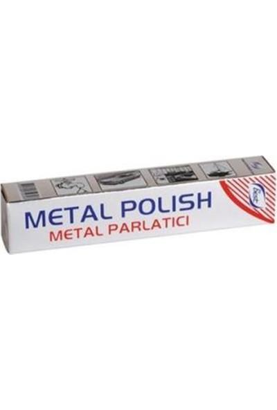 Bybest Altın Gümüş Bakır Krom Teneke Alüminyum Vb Metal Parlatıcı 50GR